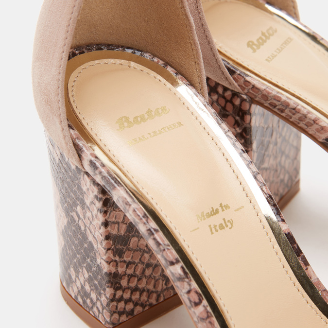 Chaussures Femme bata, Rose, 763-3750 - 19
