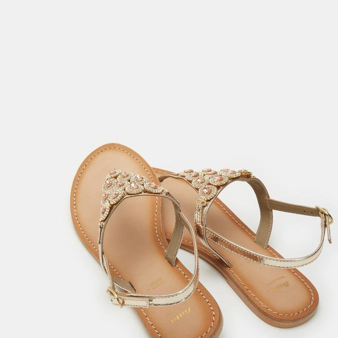 Chaussures Femme bata, Or, 564-8711 - 19