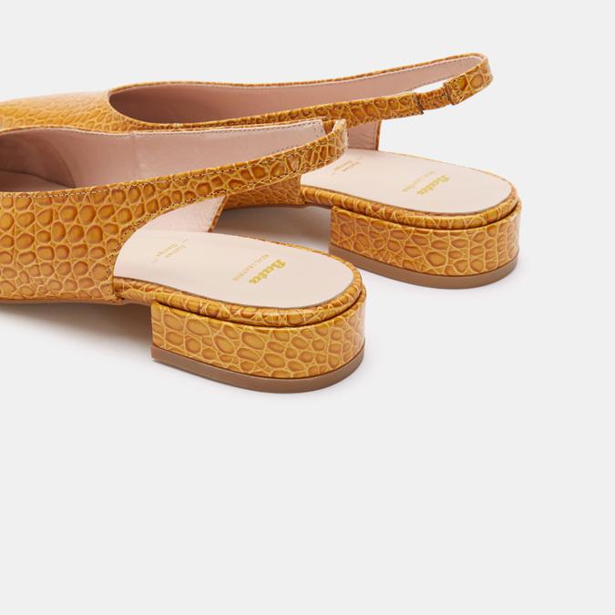 Chaussures Femme bata, Jaune, 534-8171 - 17