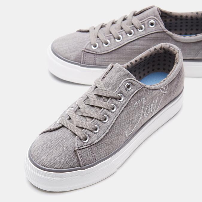 Chaussures Femme bata, Gris, 549-2565 - 17