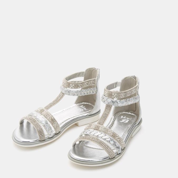 Chaussures Enfant mini-b, Argent, 361-2362 - 16