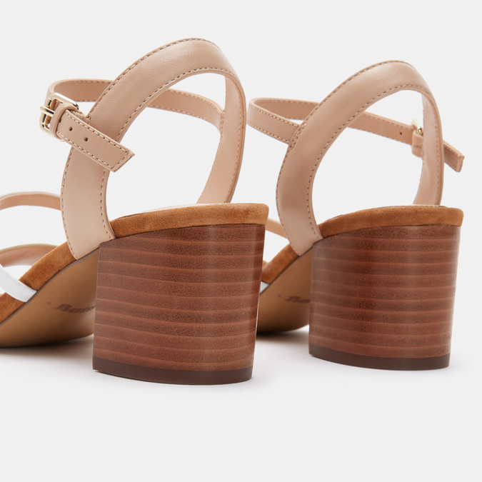 Chaussures Femme bata, Beige, 664-8225 - 15