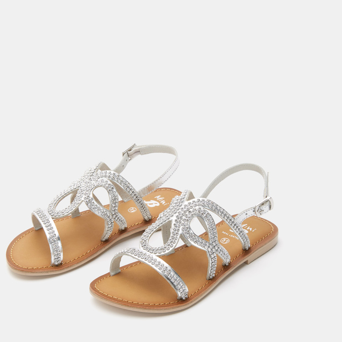 Chaussures Enfant mini-b, Argent, 364-2351 - 16