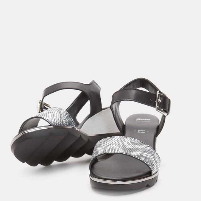 Chaussures Femme bata, Noir, 764-6757 - 19