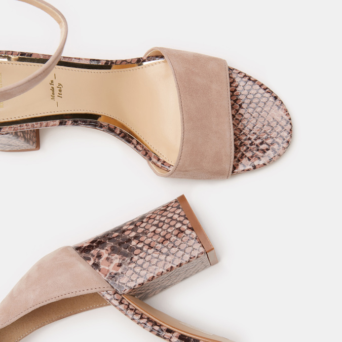 Chaussures Femme bata, Rose, 763-3750 - 17