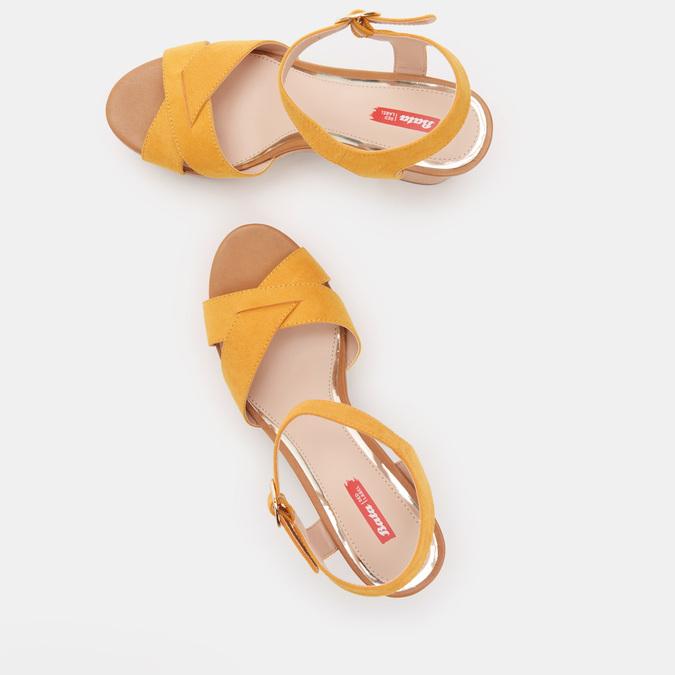 Chaussures Femme bata-rl, d'Orange, 769-8496 - 19