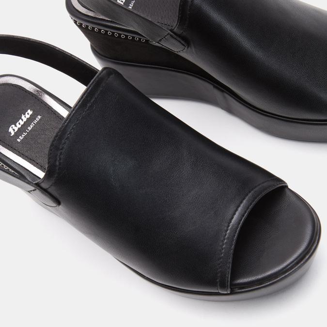 Chaussures Femme bata, Noir, 761-6473 - 19