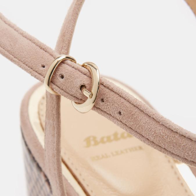 Chaussures Femme bata, Beige, 763-8749 - 26