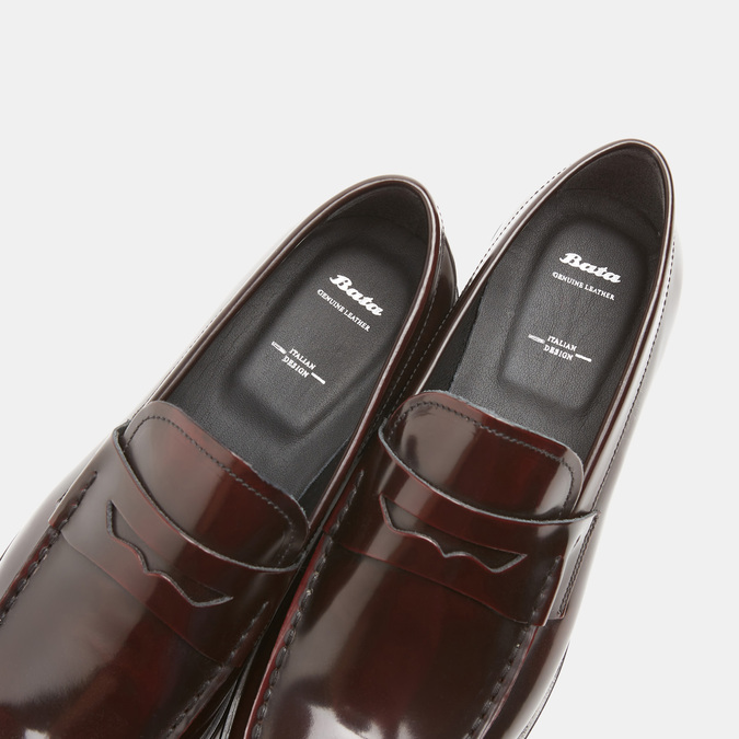 Chaussures homme bata, Rouge, 814-5177 - 19