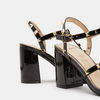 Chaussures Femme bata, Noir, 761-6439 - 16