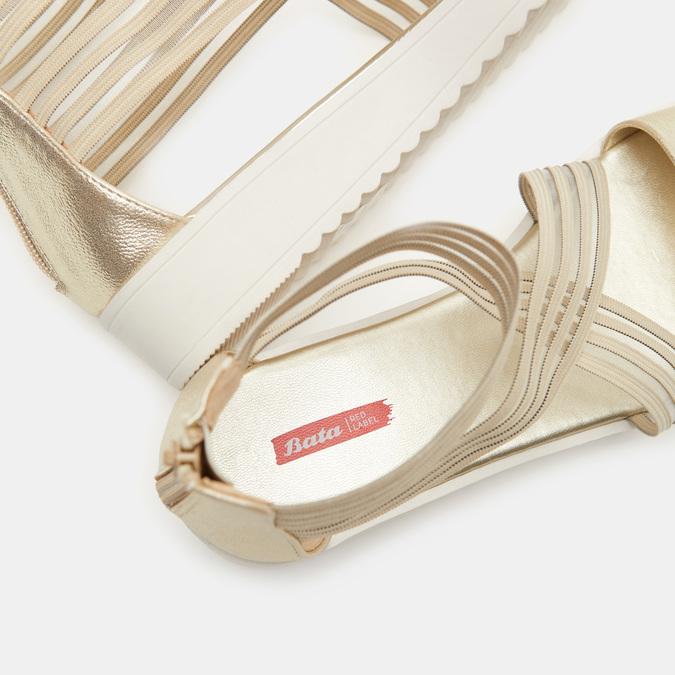 Chaussures Femme bata-rl, Or, 561-8671 - 15