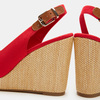 Chaussures Femme tommy-hilfiger, Rouge, 769-5365 - 16