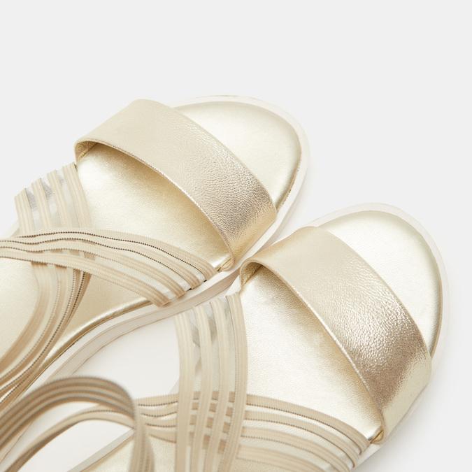 Chaussures Femme bata-rl, Or, 561-8671 - 16