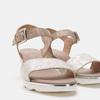 Chaussures Femme bata, Gris, 764-2757 - 19