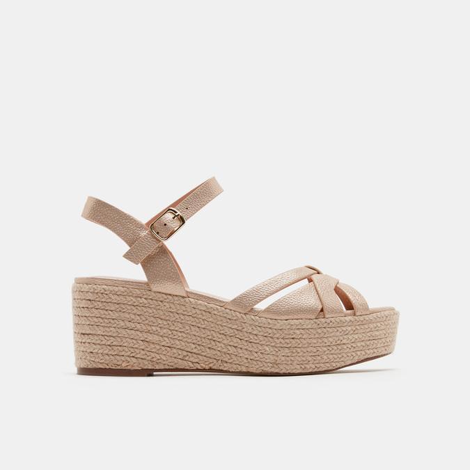 Chaussures Femme bata, Or, 761-8782 - 13