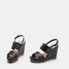 Chaussures Femme bata, Noir, 761-6778 - 16