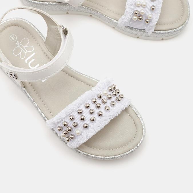 Chaussures Enfant lulu, Blanc, 369-1300 - 26