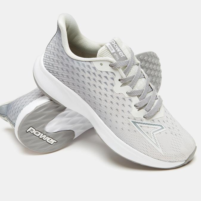 Chaussures Femme power, Gris, 509-2261 - 19