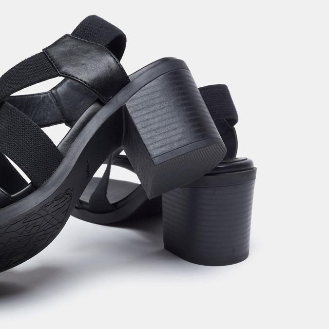 Chaussures Femme bata, Noir, 769-6768 - 17
