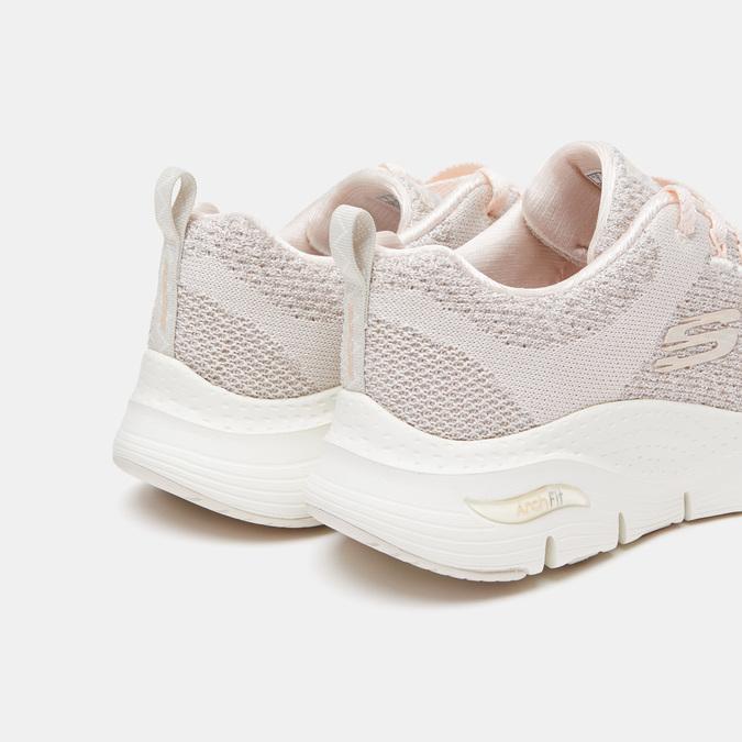 Chaussures Femme skechers, Blanc, 509-1172 - 26