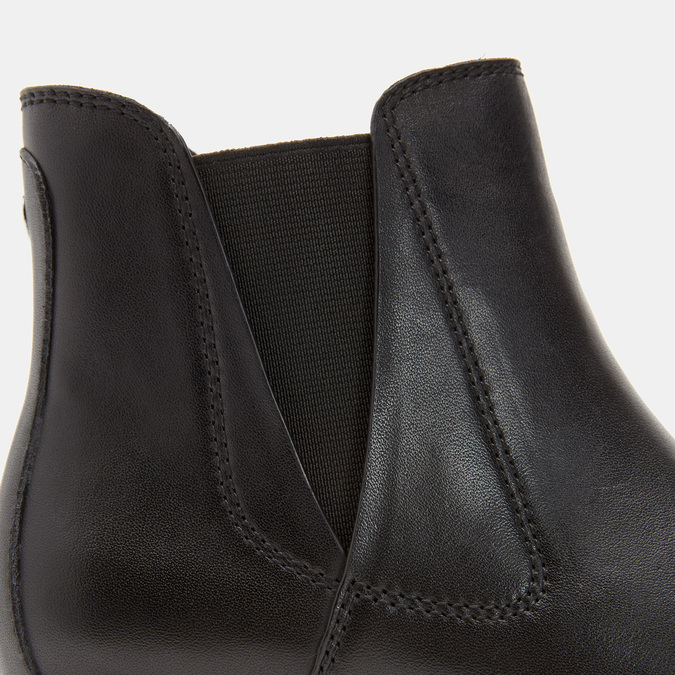 Bottines Chelsea flexible, Noir, 594-6172 - 26
