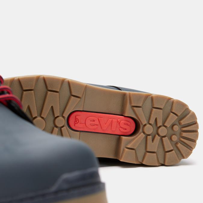 bottines hautes Levi's garçon à semelle track levis, Bleu, 491-9175 - 26