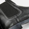 Bottines en cuir Chelsea bata, Noir, 594-6768 - 26
