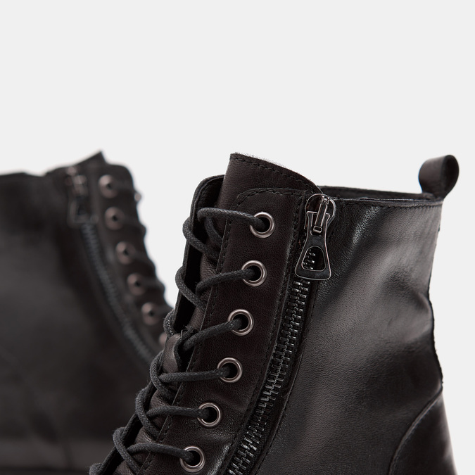 Rangers en cuir bata, Noir, 594-6588 - 26