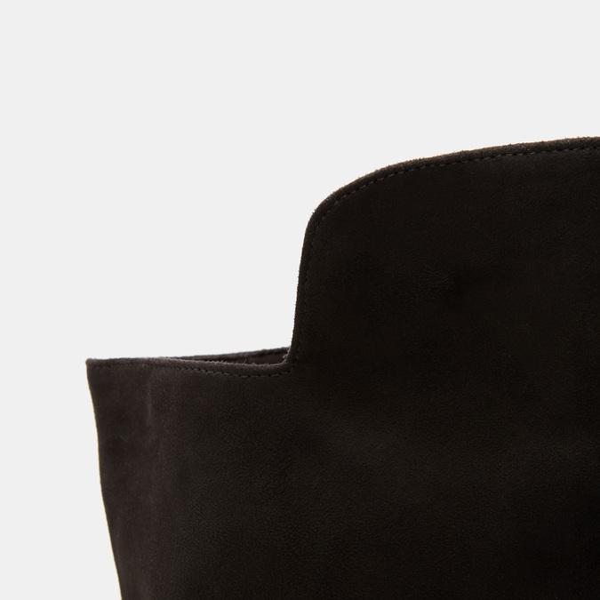 Cuissardes en suédine bata, Noir, 599-6857 - 26
