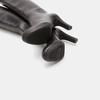 Bottes en cuir sur talon large insolia, Noir, 794-6674 - 19