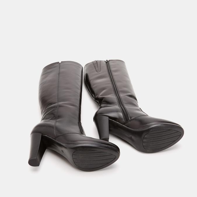 Bottes en cuir bata, Noir, 794-6726 - 19