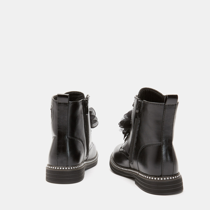 BOTTINES ENFANT mini-b, Noir, 391-6155 - 15