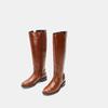 Bottes en cuir véritable bata, Brun, 594-3308 - 16