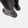 Cuissardes en cuir bata, Noir, 594-6269 - 17