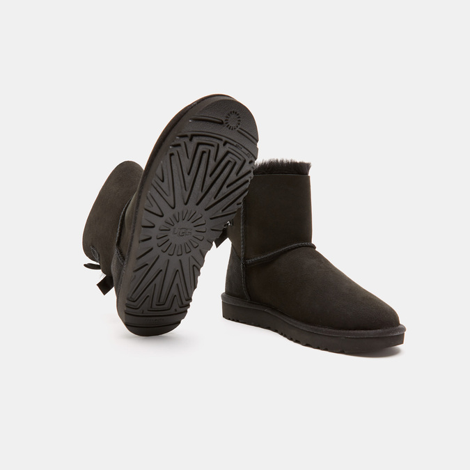 BOTTINES EN CUIR ugg, Noir, 593-6390 - 15