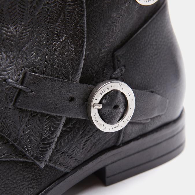 Bottines à boucles bata, Noir, 594-6582 - 16