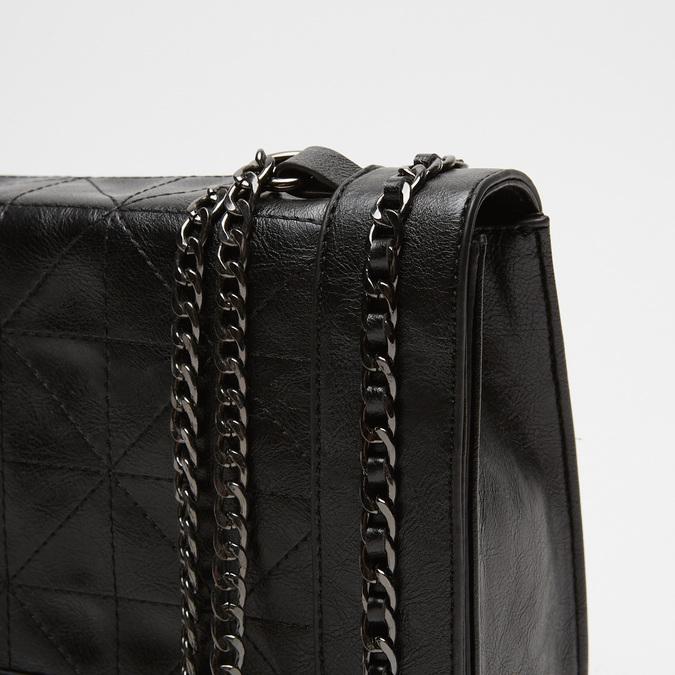 sac à bandoulière matelassé à chaînette bata, Noir, 961-6125 - 16