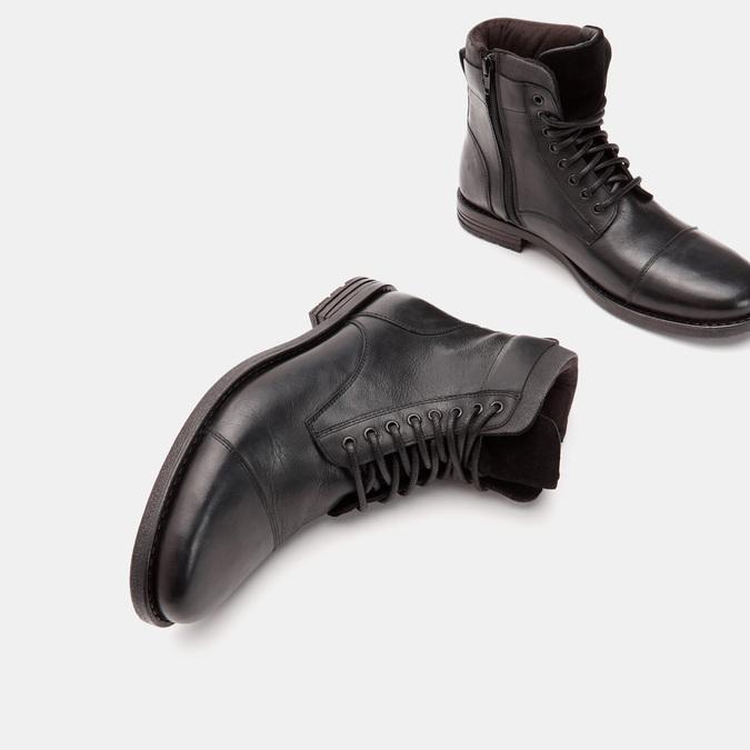 bottines en cuir homme bata, Noir, 894-6517 - 19