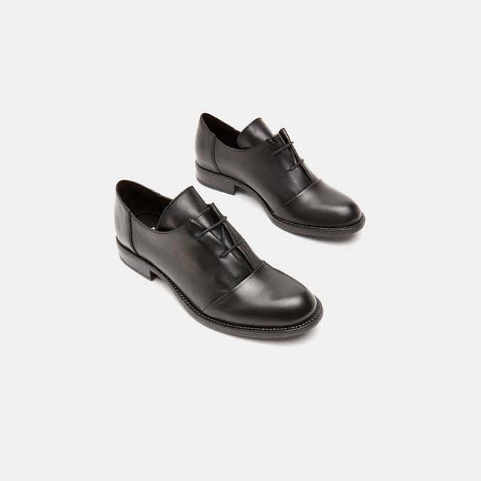 Chaussures à lacets femme bata, Noir, 524-6540 - 16