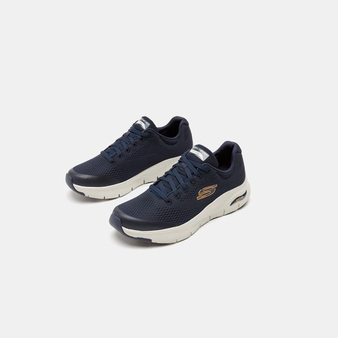 Tennis homme skechers, Bleu, 809-9121 - 16