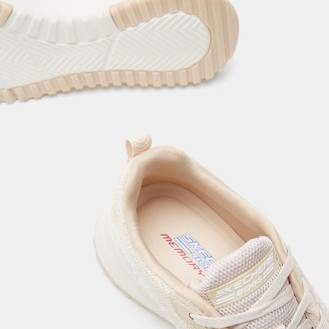 Baskets femme skechers, Beige, 509-3108 - 19