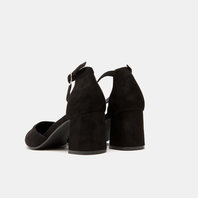 Escarpins à bout pointu bata, Noir, 729-6385 - 15