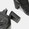 Sandales à dessus perforé bata, Noir, 761-6267 - 15