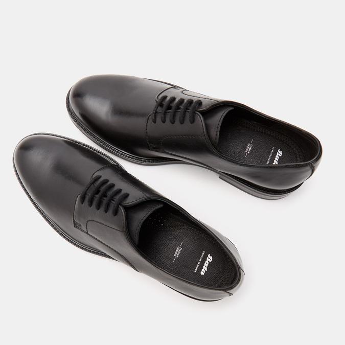 chaussures basses en cuir homme bata, Noir, 824-6264 - 19