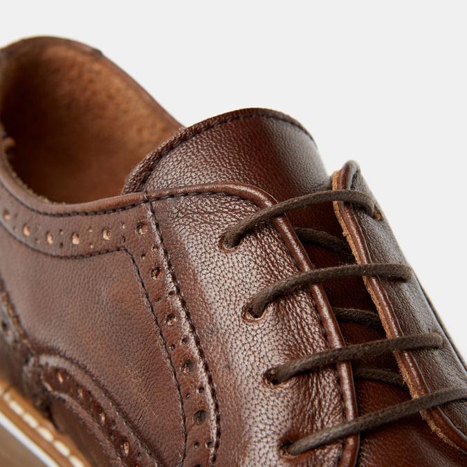 Chaussures à lacets homme bata-rl, Brun, 824-3132 - 26