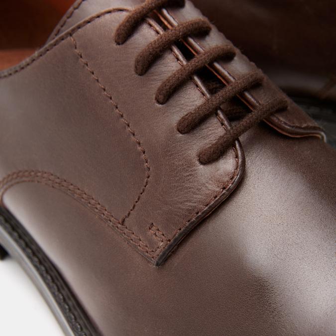 chaussures basses en cuir homme bata, Brun, 824-4264 - 26