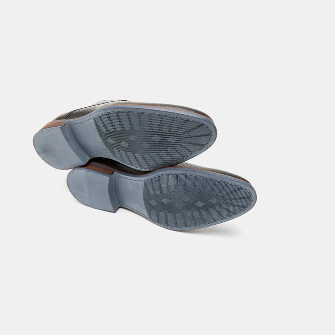 Chaussures à lacets homme bata, Noir, 824-6975 - 17