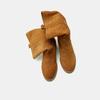 Bottes en suède bata, Jaune, 593-8103 - 19