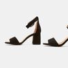 Sandales à bride autour de la cheville bata, Noir, 769-6893 - 16