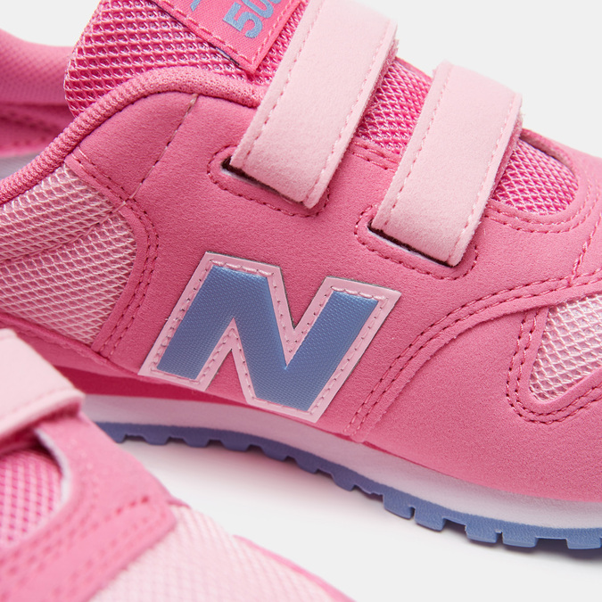 Baskets enfant new-balance, Rose, 309-5276 - 16